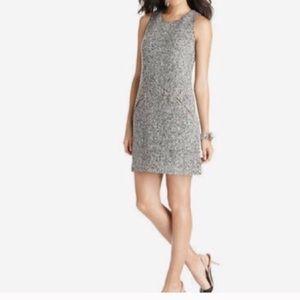 LOFT Boucle Wool Sleeveless Sheath Dress, 6p